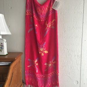 Accessories - Colorful batik print scarf